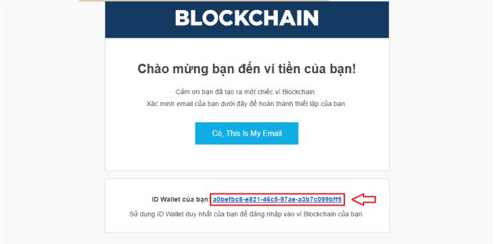 Đăng nhập vào blockchain