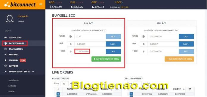 Lending Bitconnect. Ảnh 2