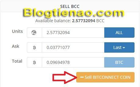 Rút lãi Bitconnect. Ảnh 6