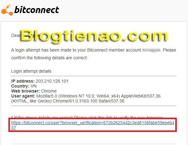 Rút lãi Bitconnect. Ảnh 10