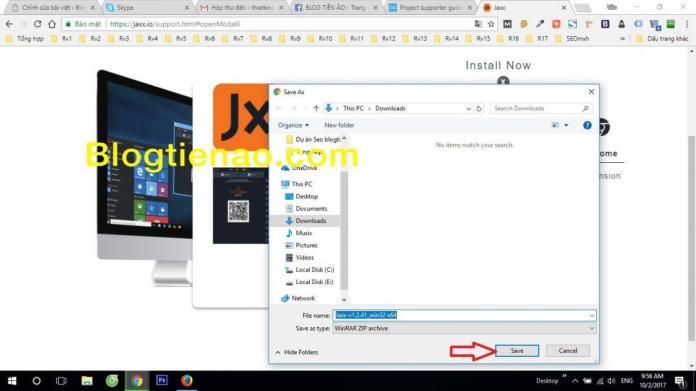 Tải ví Jaxx về máy tính. Ảnh 3