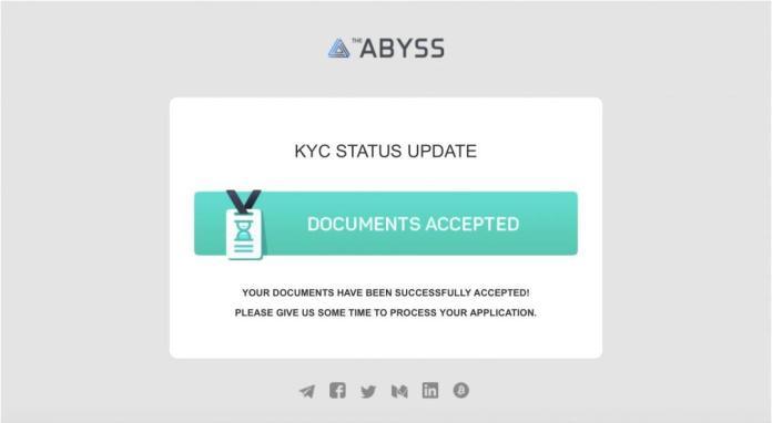 Xác minh danh tính KYC ABYSS. Ảnh 7