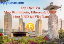 Mua Bán Bitcoin, Ethereum, USDT