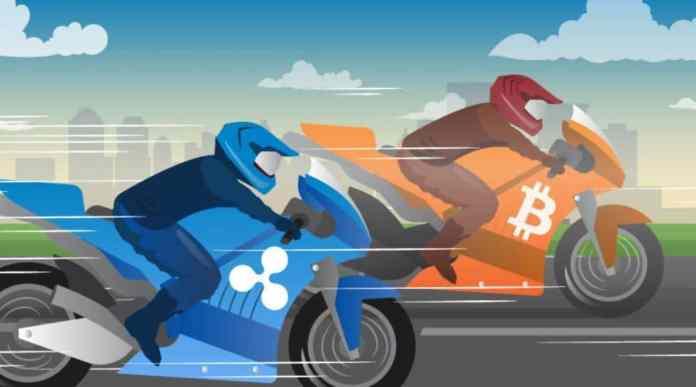 giá bitcoin chững lai, xrp tăng mạnh