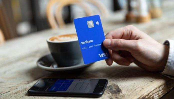 Visa Coinbase Card