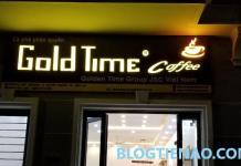 Cà phê phân quyền Gold Time Coffee