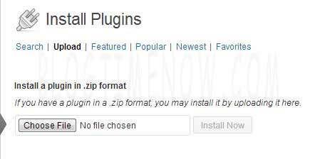 install plugins on wordpress