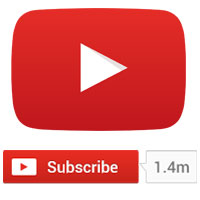 Add YouTube subscribe button in your website - Embed YouTube subscribe button