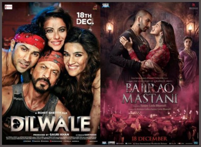 Revealed: Dilwale and Bajirao Mastani Run Time and Certification Details
