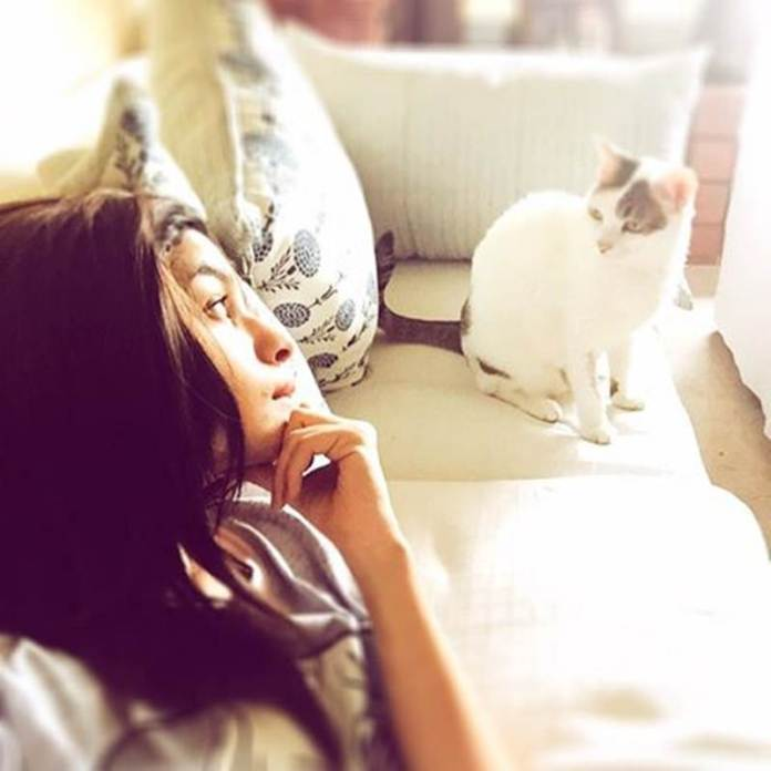 These Celeb Pet Selfies are so cute they will melt your heart right out!- Alia 2