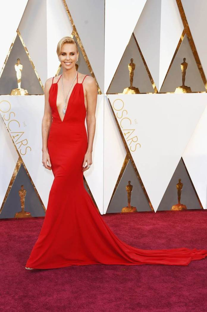 Take a look at who wore what at the Oscars 2016 | Pictures Inside- Charlize