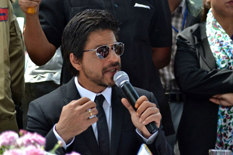 Shah Rukh is a big star in the overseas market
