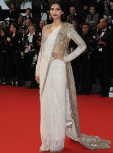 Bollywood actresses in sarees: Sonam