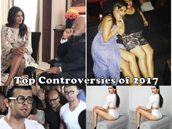 8 Controversies That Shocked Bollywood In 2017