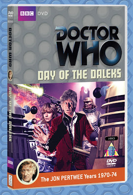 Day of the Daleks DVD Cover