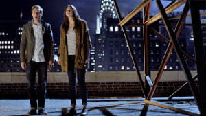 The Angels Take Manhattan - Rory Williams (ARTHUR DARVILL) AND Amy Pond (KAREN GILLAN) - (C) BBC - Photographer: screengrab
