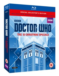 Doctor Who: The 10 Christmas Special DVD Box set (c) BBC