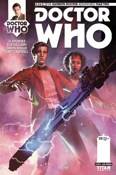 Titans Comics - Doctor Who: Eleventh Doctor #2.1 - Cover A