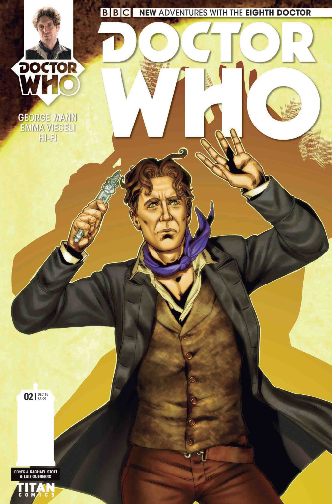 Titan Comics - Eighth Doctor #2 - Cover A