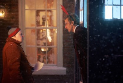 Programme Name: Doctor Who - TX: 25/12/2015 - Episode: The Husbands of River Song (No. n/a) -Matt Lucas Nardole (MATT LUCAS), Doctor Who (PETER CAPALDI) – (C) BBC – Photographer: Simon Ridgway