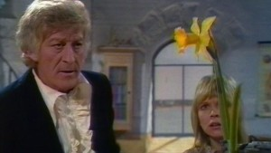 Jon Pertwee and Katy Manning - Doctor Who - Terror of the Autons