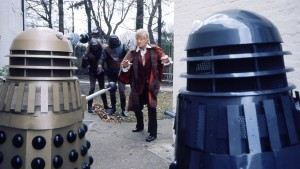 Jon Pertwee as the Third Doctor in the Day of the Daleks (c) BBC