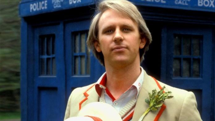 Peter Davison as the 5th Doctor (c) BBC