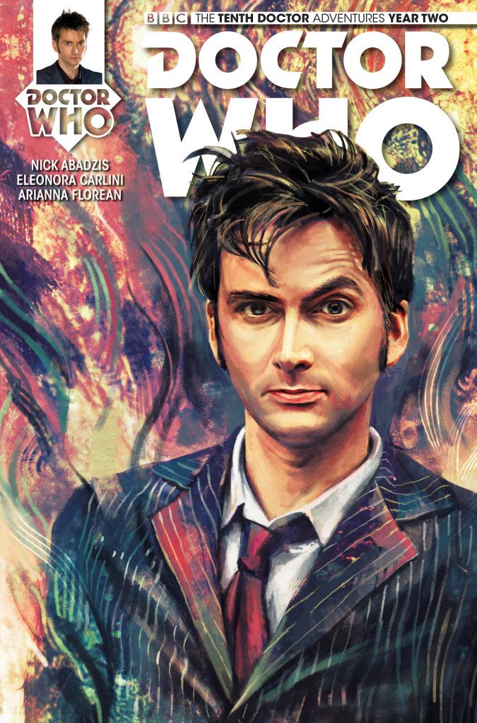 TITAN COMICS – DOCTOR WHO: THE TENTH DOCTOR #2.6 – COVER A by Alice X. Zhang