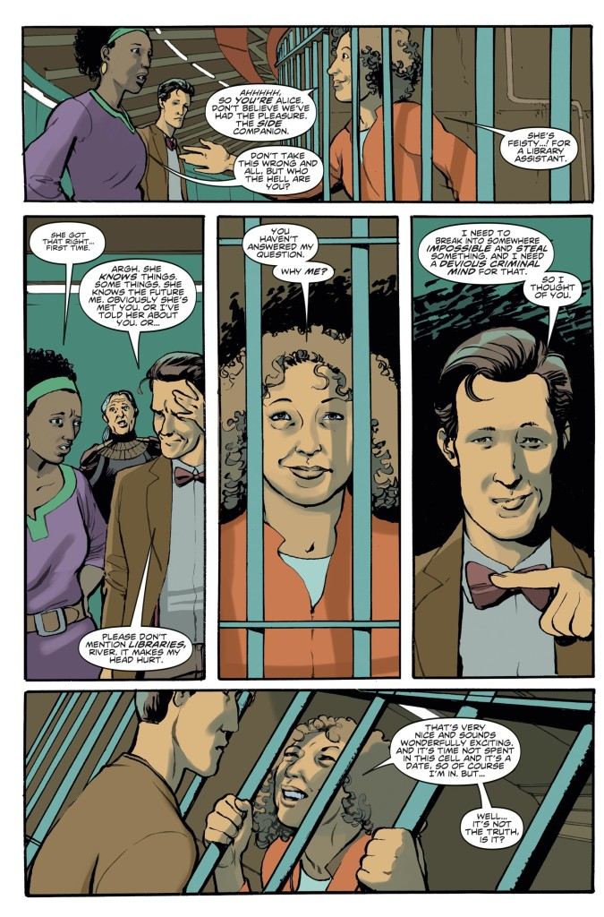 DOCTOR WHO THE ELEVENTH DOCTOR YEAR TWO #6 - Preview 3