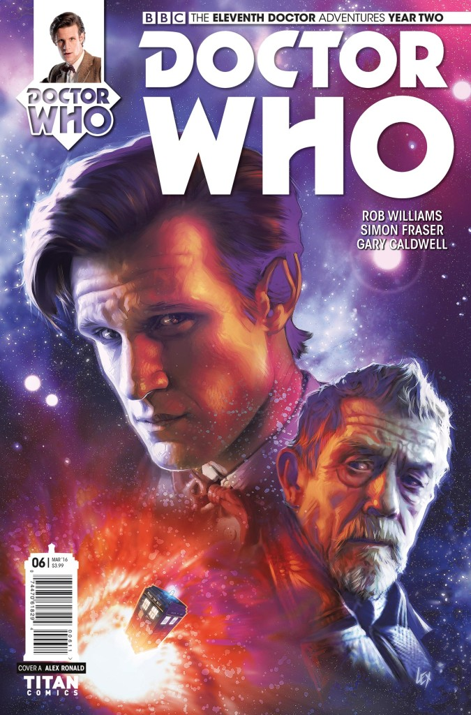 DOCTOR WHO THE ELEVENTH DOCTOR YEAR TWO #6 - Cover A