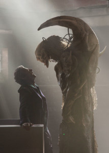 Doctor Who - TX: 10/10/2015 - Episode: BEFORE THE FLOOD (By Toby Whithouse) (No. 4) - Picture Shows: Doctor Who (PETER CAPALDI), episode 4 monster - (C) BBC - Photographer: Simon Ridgway