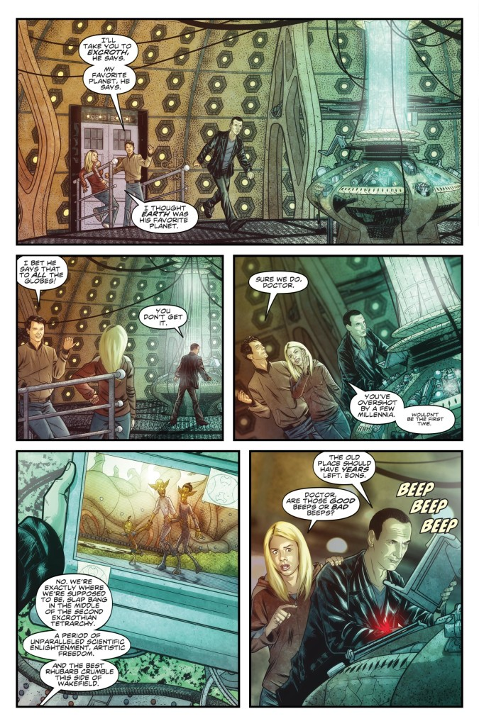 DOCTOR WHO THE NINTH DOCTOR VOL. 1: WEAPONS OF PAST DESTRUCTION - Preview 2