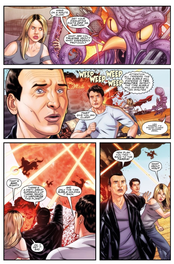 DOCTOR WHO THE NINTH DOCTOR VOL. 1: WEAPONS OF PAST DESTRUCTION - Preview 5