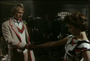 The Doctor (Peter Davison) & Tegan (Janet Fielding) Say Goodbye - -Doctor Who - Resurrection of the Daleks