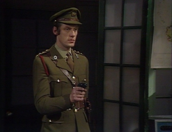 Capt Yates (Richard Franklin) - Doctor Who Invasion of the Dinosaurs  (c) BBC
