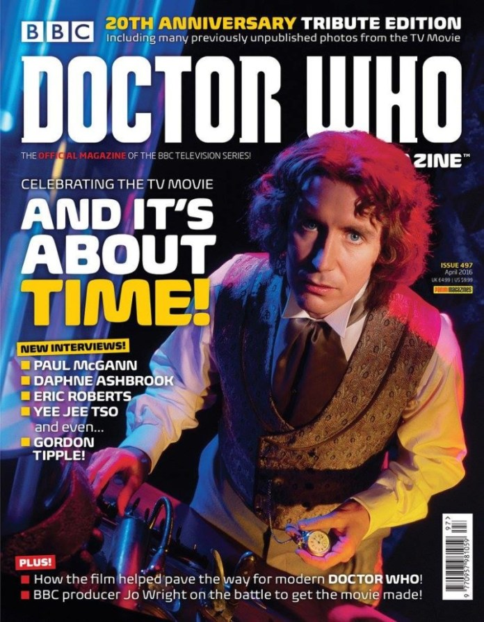 Doctor Who Magazine Issue 497