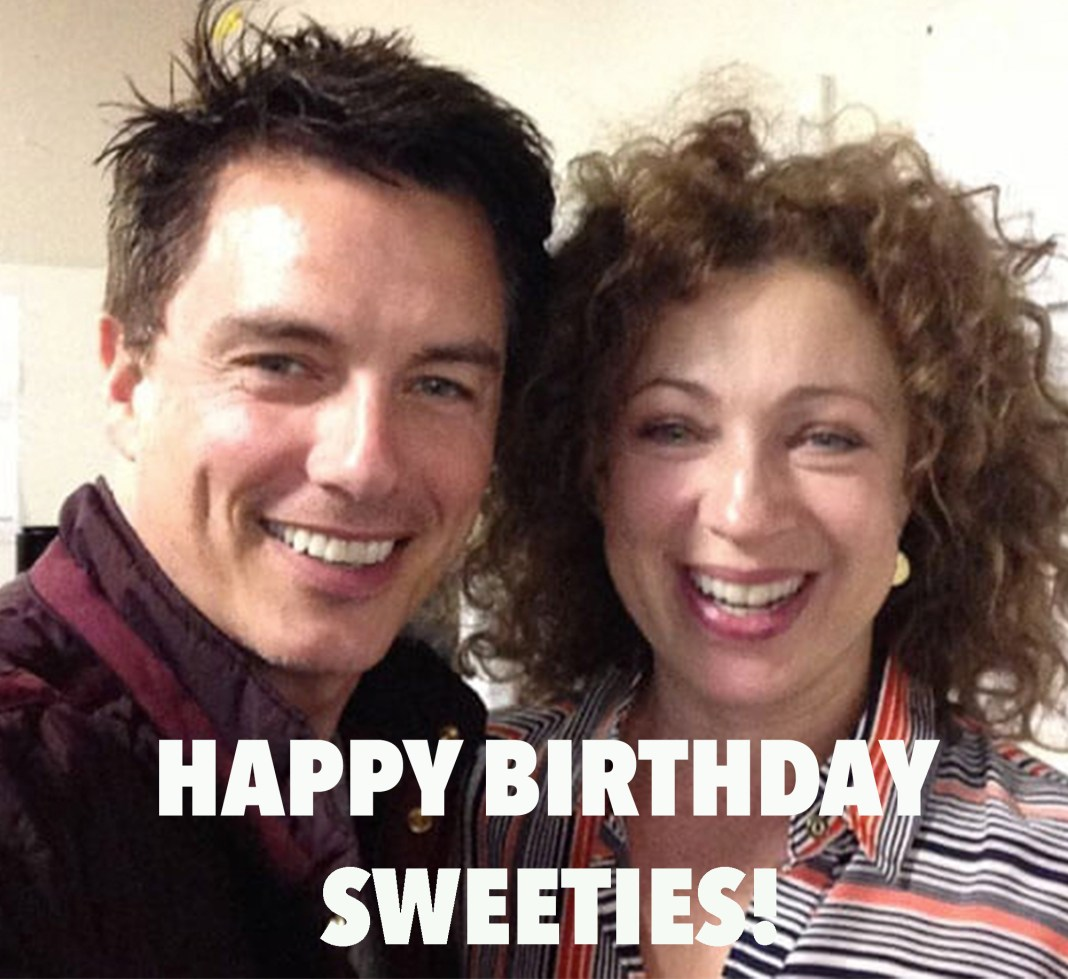 John Barrowman & Alex Kingston
