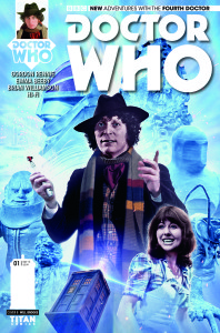 DOCTOR WHO: THE FOURTH DOCTOR #1 - Cover B Subscription (c) Titan Comics