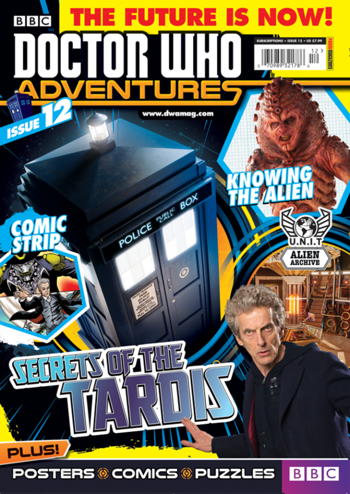Doctor Who Adventures #12 CoverDoctor Who Adventures #12 Cover