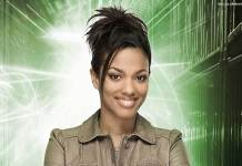 Freema Agyeman as Doctor Who's Martha Jones (c) BBC