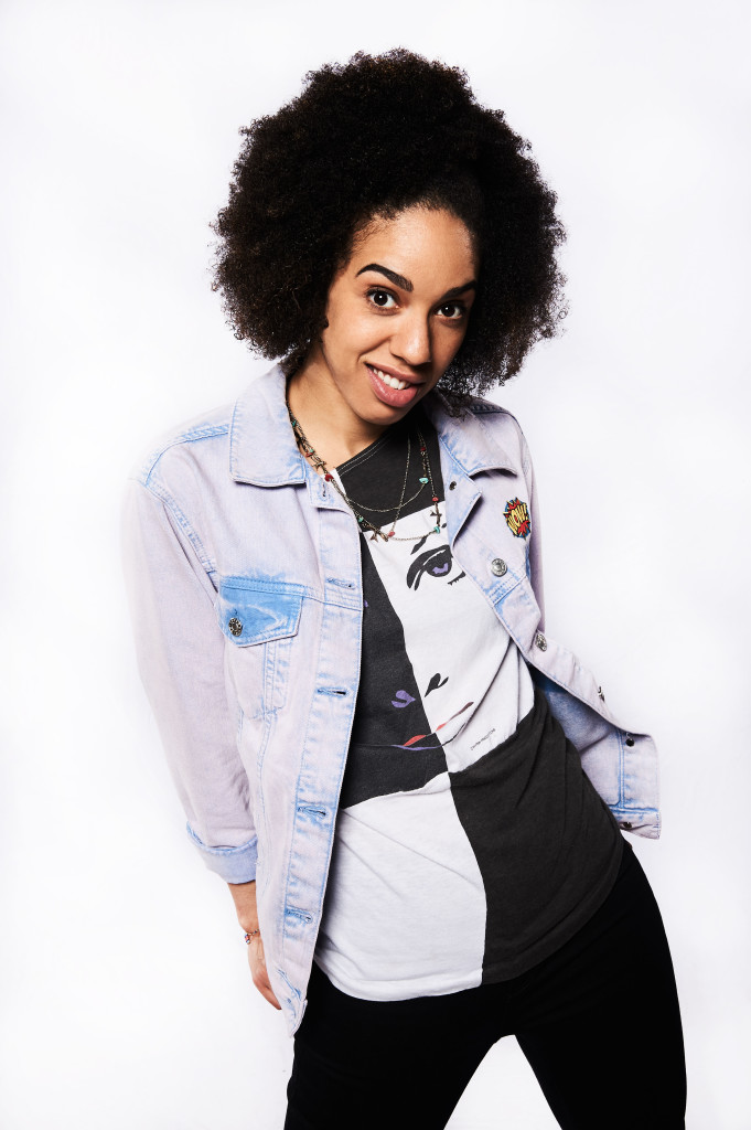 Doctor Who S10 - MEET PEARL MACKIE - THE DOCTOR'S NEW COMPANION Pearl Mackie - (C) BBC - Photographer: Ray Burmiston