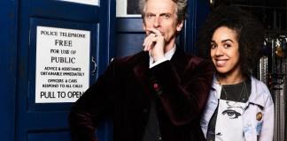 Doctor Who S10 - MEET PEARL MACKIE - THE DOCTOR'S NEW COMPANION The Doctor (PETER CAPALDI), Pearl Mackie - (C) BBC - Photographer: Ray Burmiston