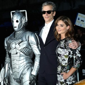 Peter Capaldi, Jenna Coleman - 'Doctor Who' TV series screening, New York, America - 14 Aug 2014 - Photo by Startraks Photo/REX