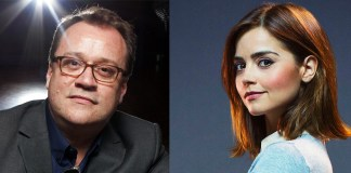 Russell T Davies and Jenna Coleman