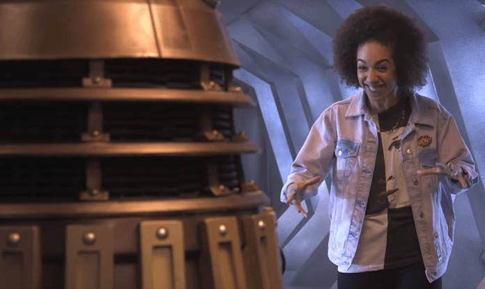 Pearl Mackie Encounters Her First Dalek c) BBC