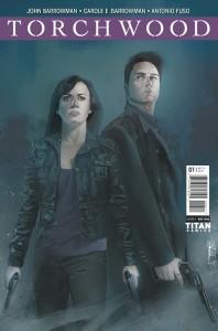 Torchwood - Cover E (c) Titan Comics