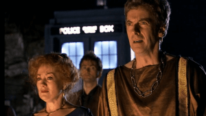 Peter Capaldi, Tracy Childs & David Tennant- The Fires Of Pompeii- BBC
