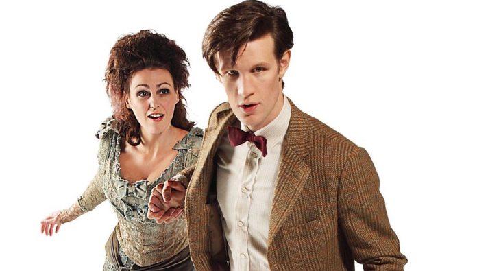 Suranne Jones (Idris) and Eleventh Doctor (Matt Smit) - The Doctor's Wife - (BBC)