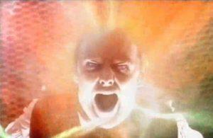 Derek Jacobi Regenerates into John Simm - Doctor Who - Utopia (c) BBC
