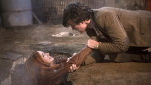 Amy Pond (Karen Gillan) and Eleventh Doctor (Matt Smith) - Doctor Who - The Hungry Earth (c) BBC